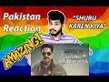 Shuru Karein Kya - Article 15 Pakistan Reaction | Ayushmann Khurrana, SlowCheeta, Dee MC,Kaam