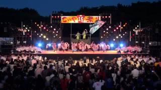 龍谷大学 華舞龍 時、繚乱 第15回こいや祭り(2014年)・フィナーレ審査演舞 ファイナル