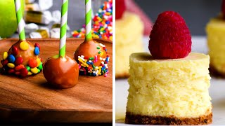 10 Creative Ways to Turn Big Desserts into Tiny Treats! So Yummy