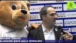 24-02-2013: Intervista a Giovanni Torchio nel post Molfetta-Corigliano  3-0