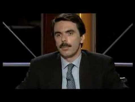 Aznar y Mujeres en pelotas