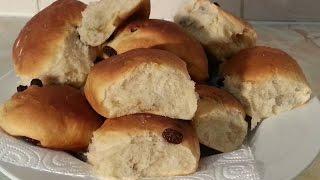 Raisins Bread Roll Recipe (white Rolls)