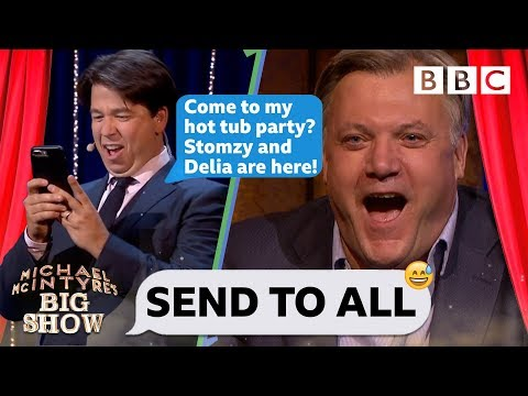 Send To All with Ed Balls - Michael McIntyre's Big Show: Series 3 Episode 1 - BBC One