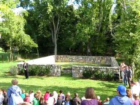 Wreath Laying Ceremony at Charles Washington
