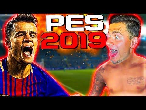 ПЕРВЫЙ РАЗ ИГРАЮ в PES 2019 | Pro Evolution Soccer 19