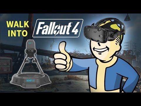 Walk into the Wasteland | KAT Walk mini + Fallout 4 VR Gameplay