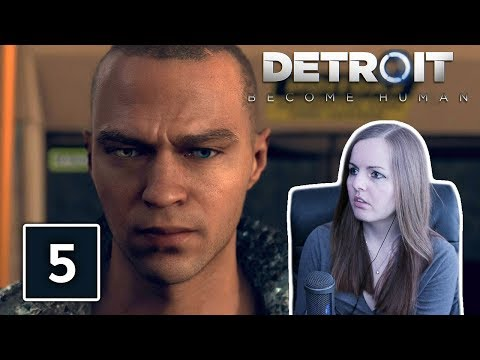 OMG HE'S BACK? | Detroit Become Human Gameplay Walkthrough Part 5