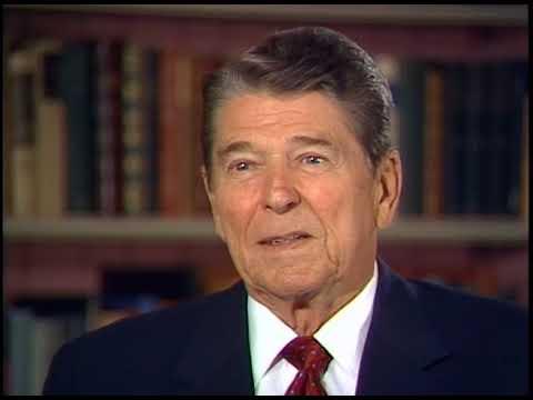 President Reagan's Interview on John Wayne on September 12, 1988