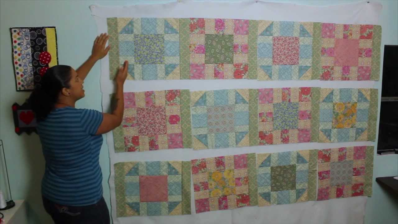 Victorian Modern Quilt Along- Video #4- How to Make Sashing and Cornerstones