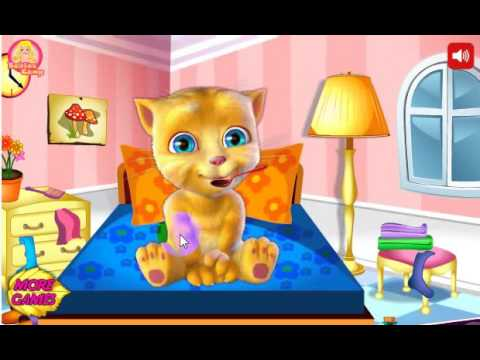 Talking Tom in Hospital-Game mèo Tom đi bệnh viện