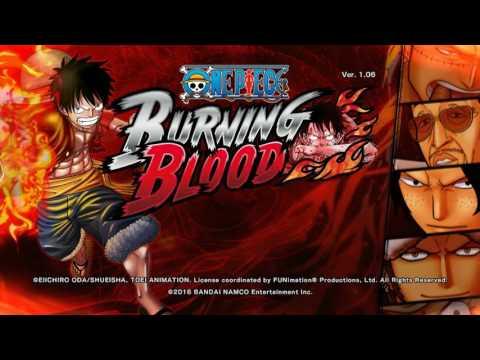 วิธีดาวน์โหลดเกม one piece burning blood + crack เล่นได้ 100% +เข้าเกมให้ดู