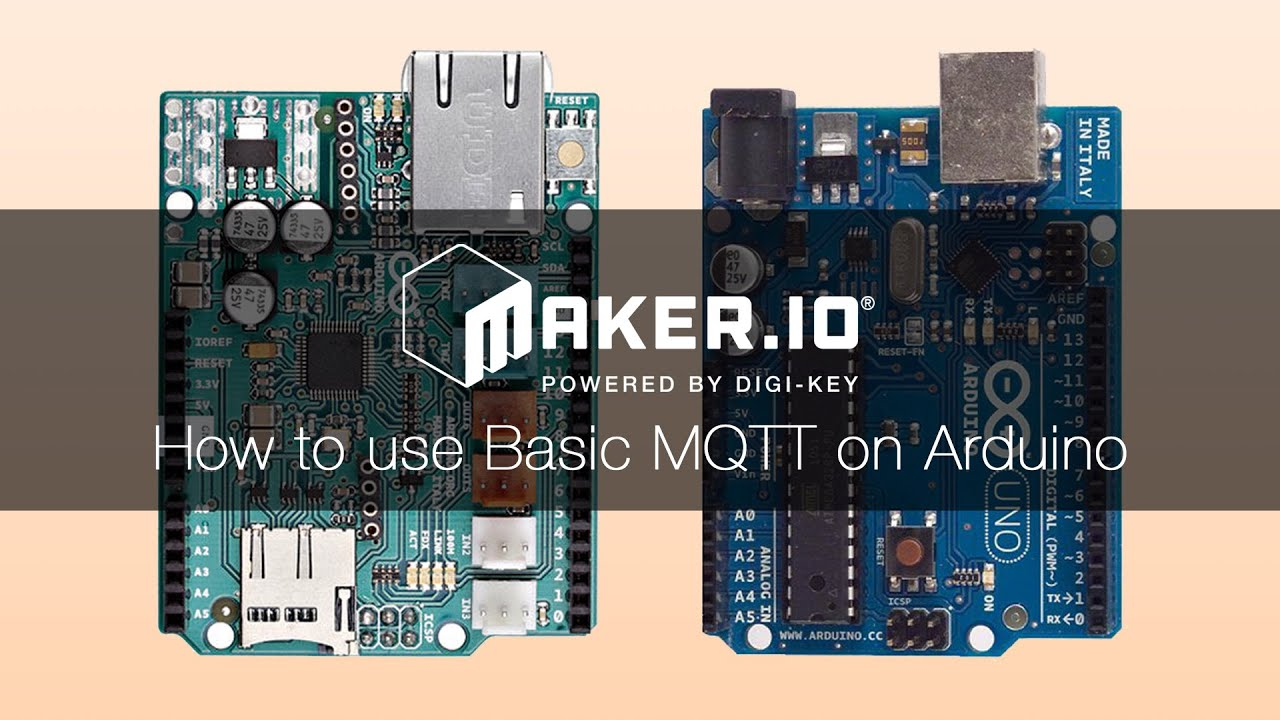 How To Use Basic MQTT on Arduino
