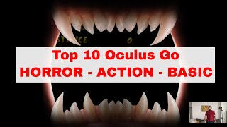 Top 10 Oculus Go (HORROR) Games - Play with me - Temple Run VR - Wonder Glade
