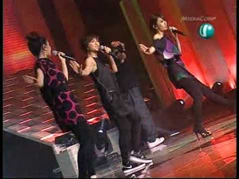 7 Nov 09 S.H.E 3 songs  on Singapore Hits Awards 2009.mpg