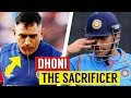 Moments When Dhoni Sacrificed Himself for the Team
