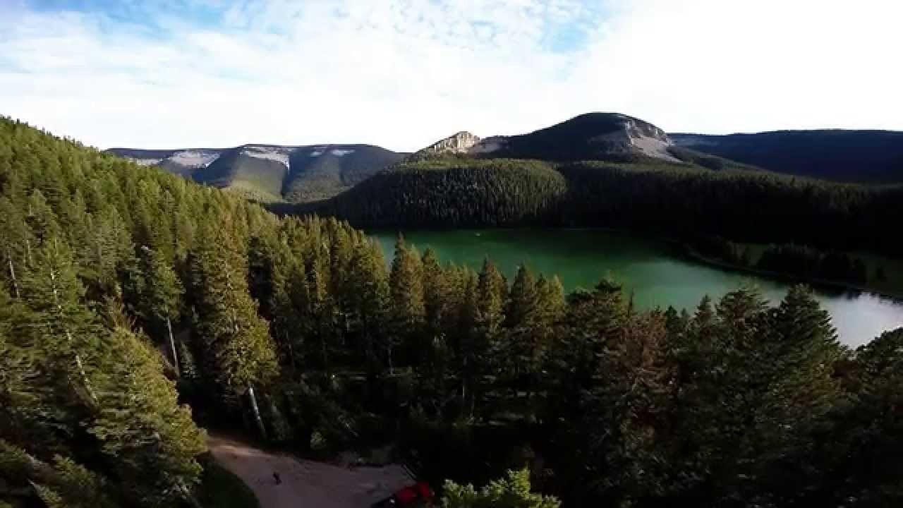 Vw Crystal Lake >> Crystal Lake and Big Snowy Mountains near Lewistown MT ...