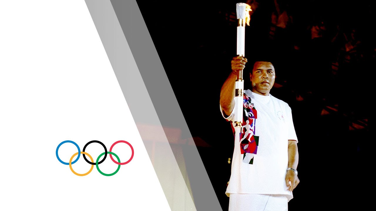 Download Muhammad Ali lights the the Olympic Flame at Atlanta 1996