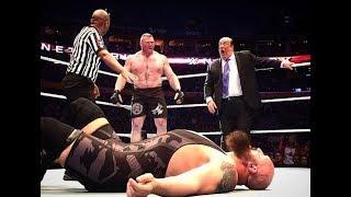 Wwe live event 2018 brock lesnar vs big show full match hd    amit rana classy wrestling