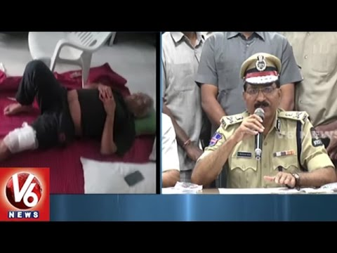 CP Mahender Reddy Speaks On Masab Tank Gun...