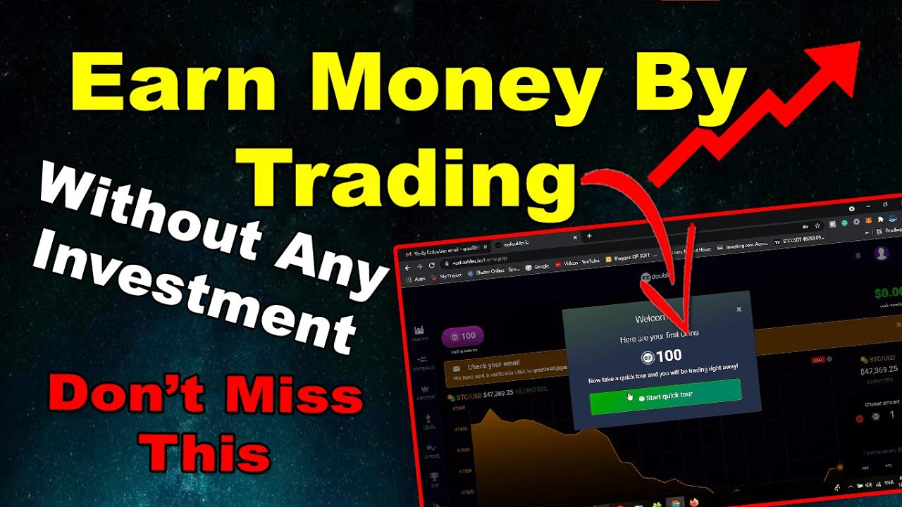 How To Earn Money By Trading Without Any Investment - Best Way To Earn Free Money