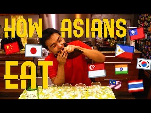 How Asians Eat