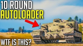 10 Shot Autoloader Destroyer is Ridiculous! 🔥 | World of Tanks AT 7 Gameplay