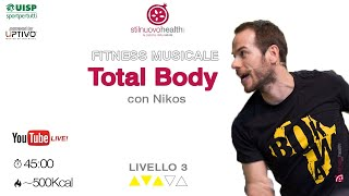 Total body Nikos -livello 3- 10(live)
