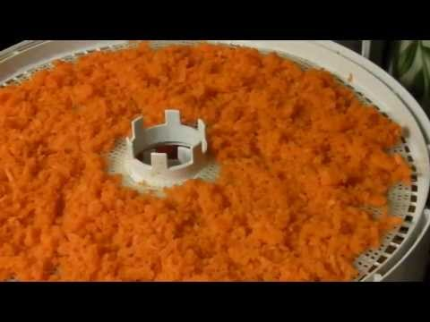 How to Dehydrate Grated Carrots