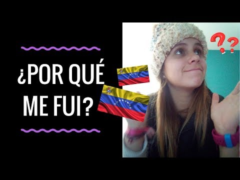 VENEZOLANA EN CHILE- ¿Por qué me fui?