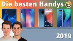 Die besten Handys 2019: Vergleich & unsere Testsieger