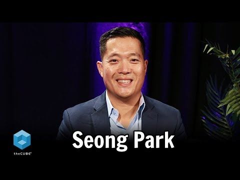 Seong Park, MongoDB | theCUBE NYC 2018