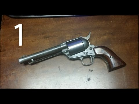 1880 single action Revolver built from scratch (part 1)