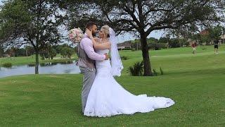 Wedding at The Bayou Club: Kayla & Derek