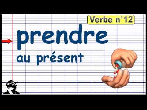 Conjuguer Le Verbe Prendre Au Present 2019 Youtube