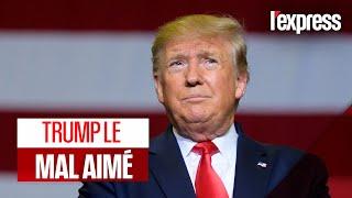 Donald Trump hué de plus en plus souvent