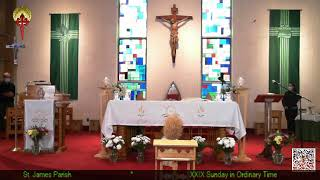 XXIX Sunday in Ordinary Time - 10AM Mass