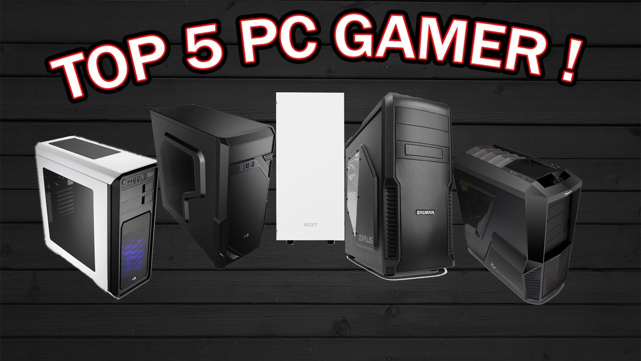 top 5 pc gamer pas cher fr youtube. Black Bedroom Furniture Sets. Home Design Ideas