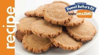 Five-spice Peanut Butter Cookies Recipe