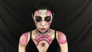 Cyborg Siren makeup & bodypaint trailer. Full tutorial coming soon. IG: @costumize_it for more looks and creations! Please don't forget to like and subscribe!