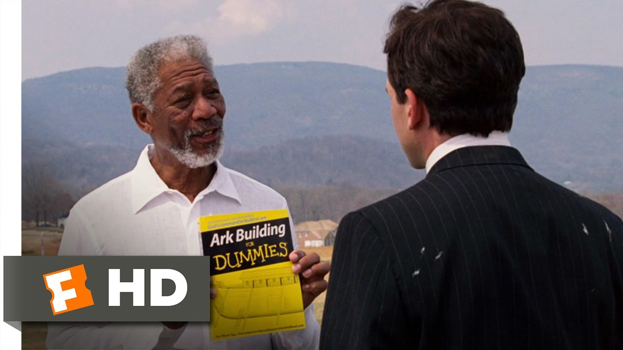 Evan Almighty 610 Movie Clip Evan Speaks With God 2007 Hd