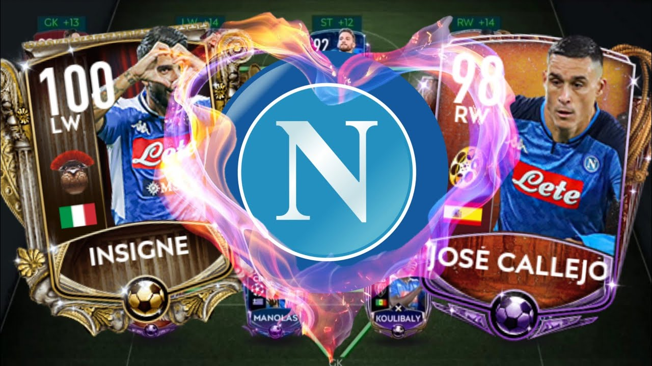 This is Napoli! Full Special Masters Squad! | Fifa Mobile 20 - Squad Builder, Team Upgrade