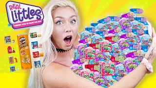OPENING 100 MINI BRANDS SHOPKINS  !! RARE MYSTERY Real Littles !! LIMITED, RARE, SUPER RARE FINDS