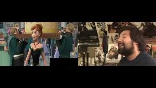 """""""For the First Time in Forever"""" (OST) Mashup-Kristen Bell, Idina Menzel, Caleb Hyles-FROZEN"""