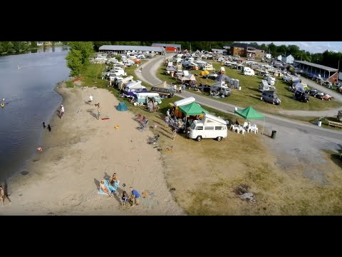 BusFusion 2016  - Drone Flyover VW Group Camping Event