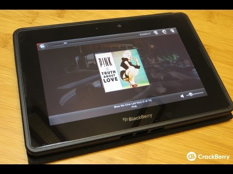 Think-4-U Music Player for the BlackBerry PlayBook