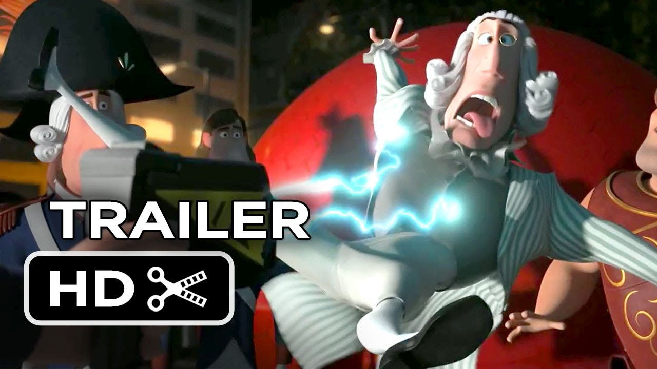 Mr Peabody  Sherman Official Trailer 2 2014  Animated Movie