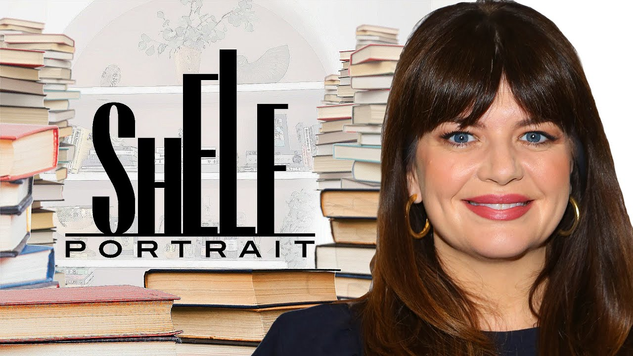 Casey Wilson's Bookshelf Tour: Nicole Byer, David Sedaris & More | Shelf Portrait | Marie Claire