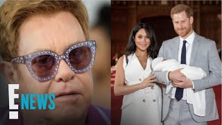 Elton John Defends Harry & Meghan's Private Jet Use | E! News