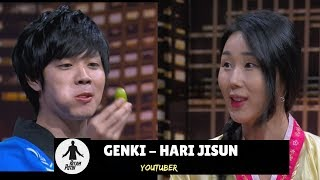 Hari Jisun dan Genki Cicipi Makanan Indonesia | HITAM PUTIH (13/09/18) 3-4