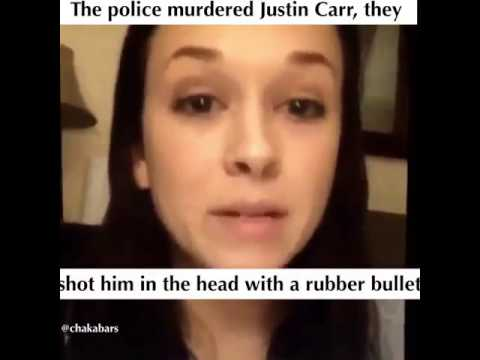Justin Carr was shot by police